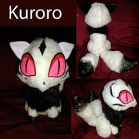 Sitting Kuroro Plushie by WhittyKitty