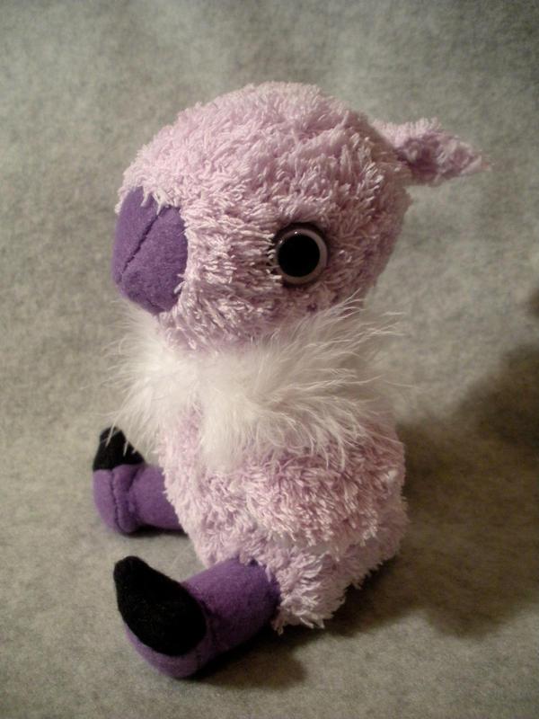 Purple Baby Chocobo Plush by WhittyKitty