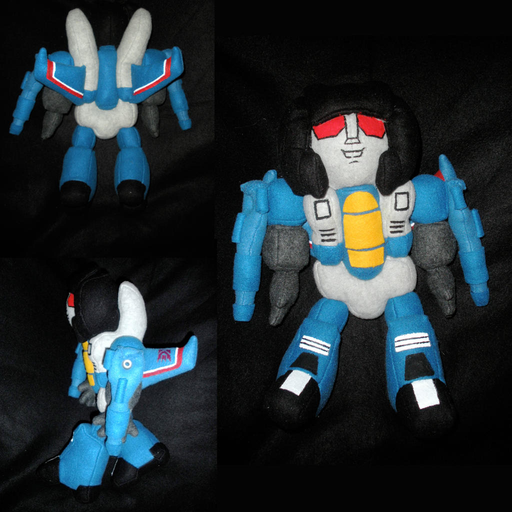 G1 Thundercracker Plush by WhittyKitty