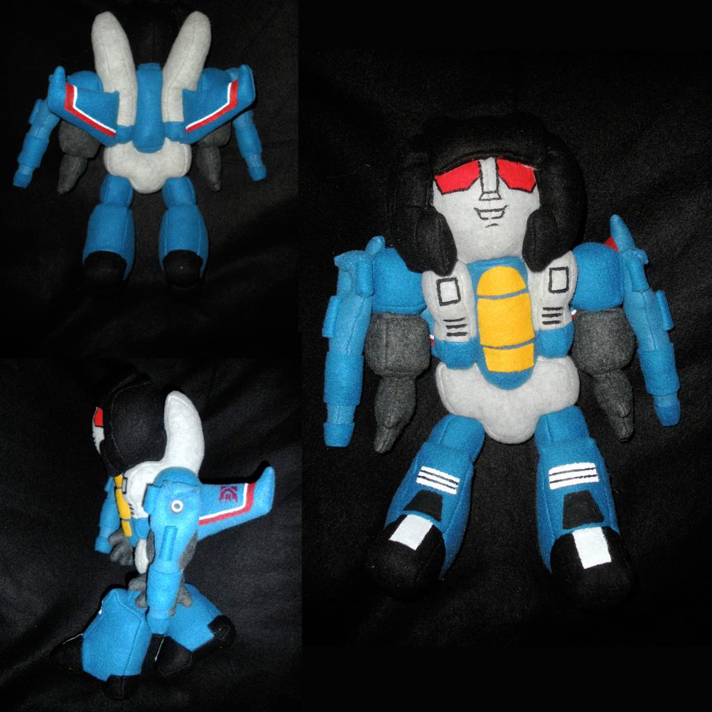 G1 Thundercracker Plush by WhittyKitty