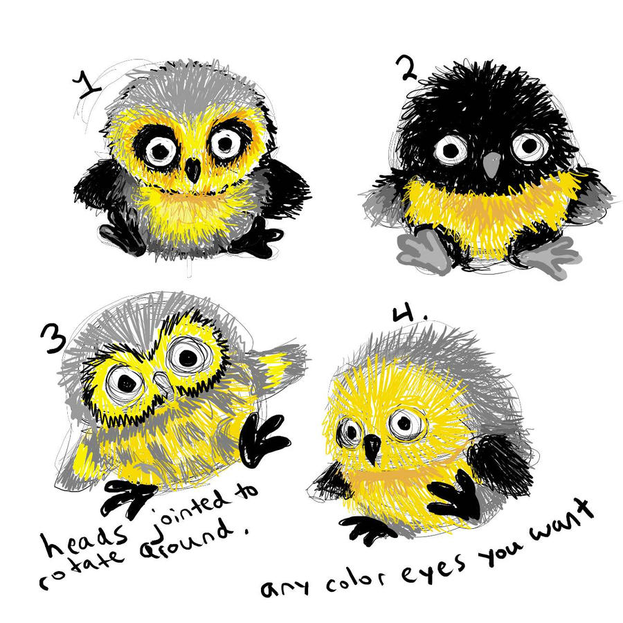 Uncategorized Baby Owl Drawing baby owl colors by whittykitty on deviantart whittykitty