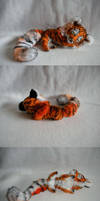 Sleepy Tiger Plush