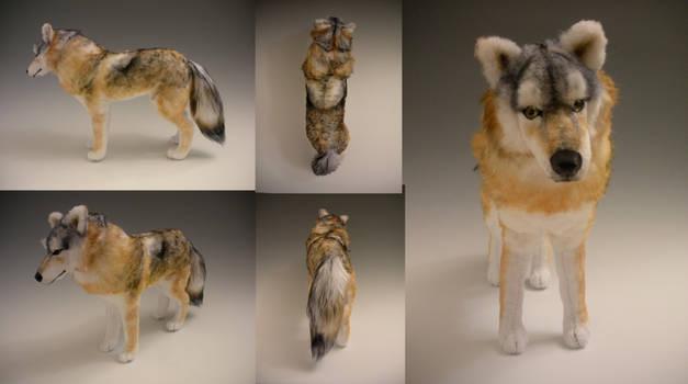 Timber Wolf Plush