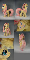 Deluxe MLP: Fluttershy by WhittyKitty