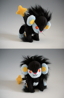 Minky Luxray Pup by WhittyKitty