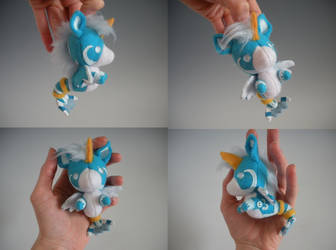 Water Horse Keychain Plush by WhittyKitty