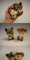 Keychain Pups by WhittyKitty