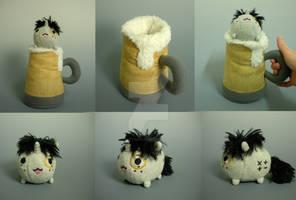 OC Blob Pony in a Mug o' Cider