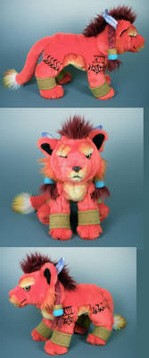 Red XIII Floppy Plush