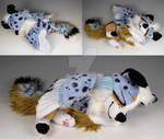 Custom Sleepy Baby Winged Pup