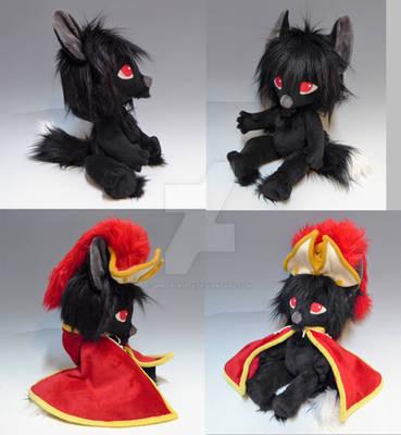 Custom Zobobear Black Wolf