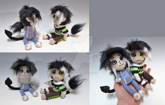 Mini Dolls Syn and Aria