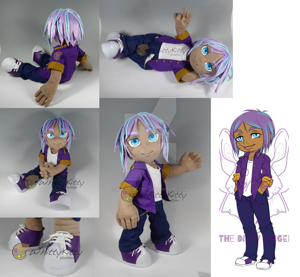 James - Custom Jointed Plush Doll