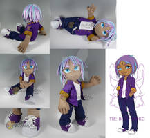 James - Custom Jointed Plush Doll