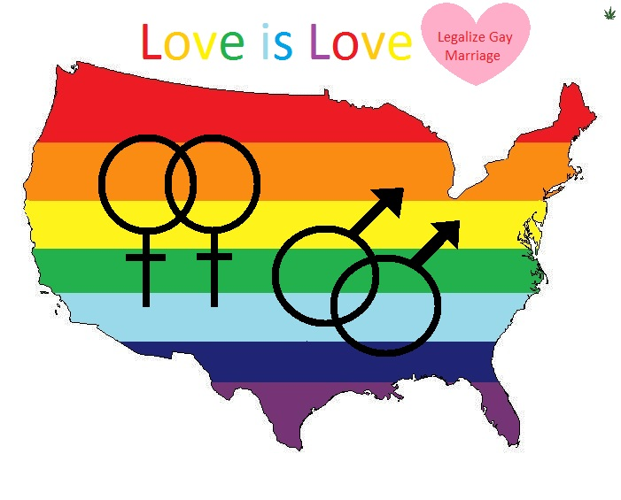 Help Legalize Gay Marriage 50