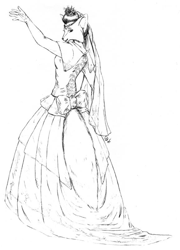 The Fox Bride by ZhoraTheWolverbabe