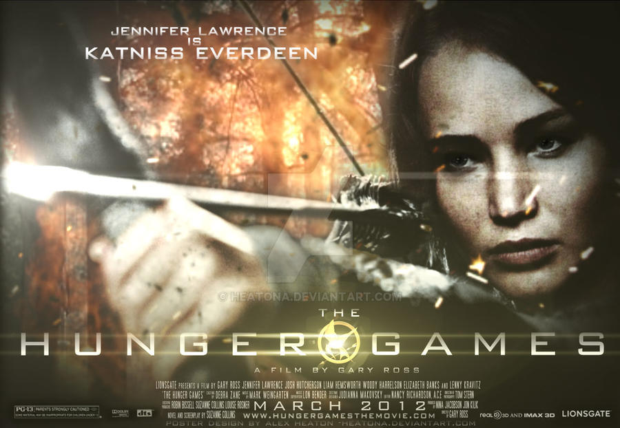 Katniss HG Poster by heatona