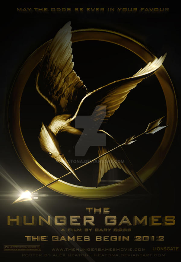 The Hunger Games Movie Poster by heatona