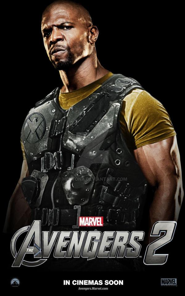 Avengers 2 Luke Cage Poster By Heatona