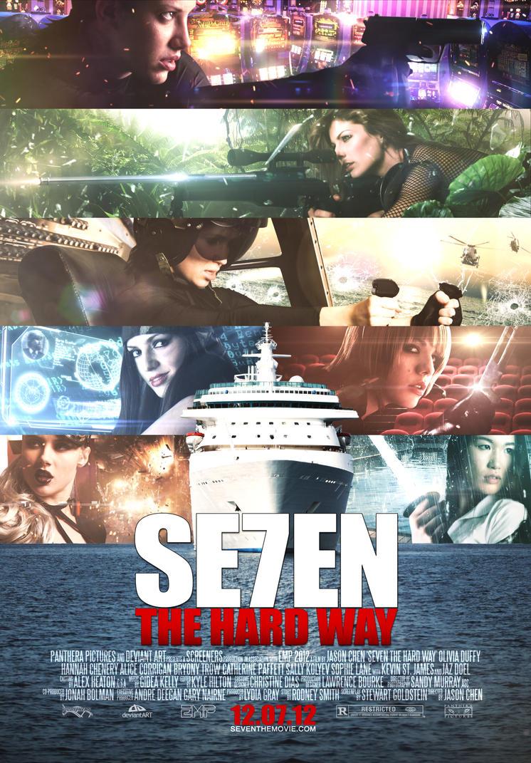 EMP 2012: Seven The Hard Way Poster by heatona