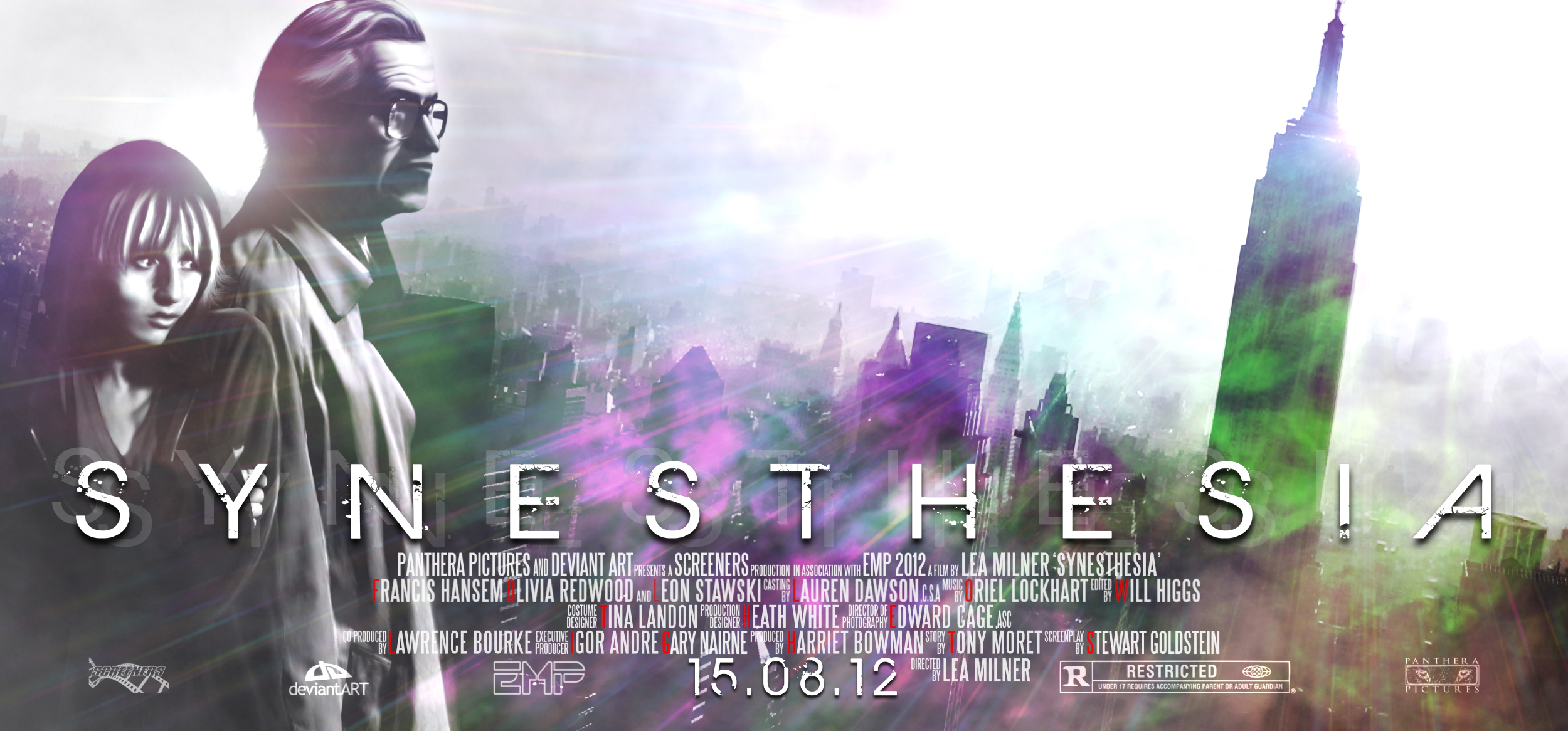 EMP 2012: Synesthesia Poster by heatona
