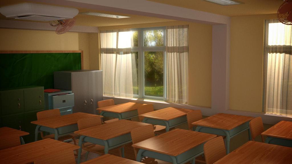 Classroom1 by DantisMathai