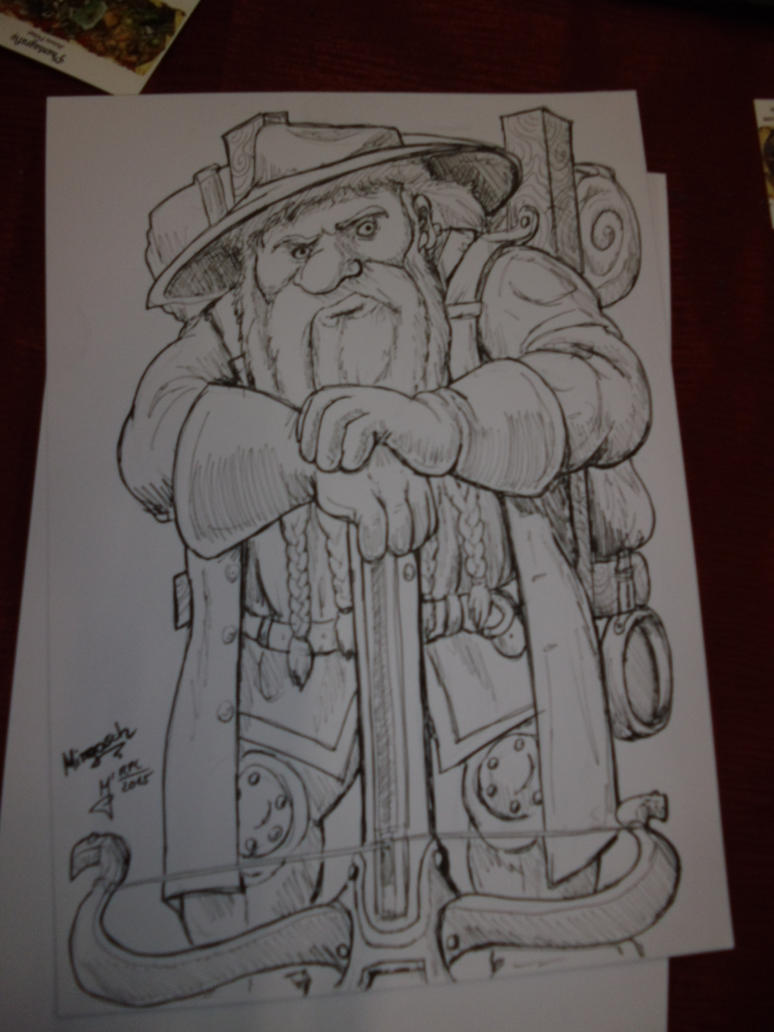 Role Play Convention 2015: Dwarf by Phantagrafie
