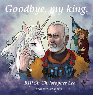 Christopher Lee tribute: The king is dead