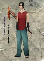 Naruto OC Doraibu Getsuei by DemonKun