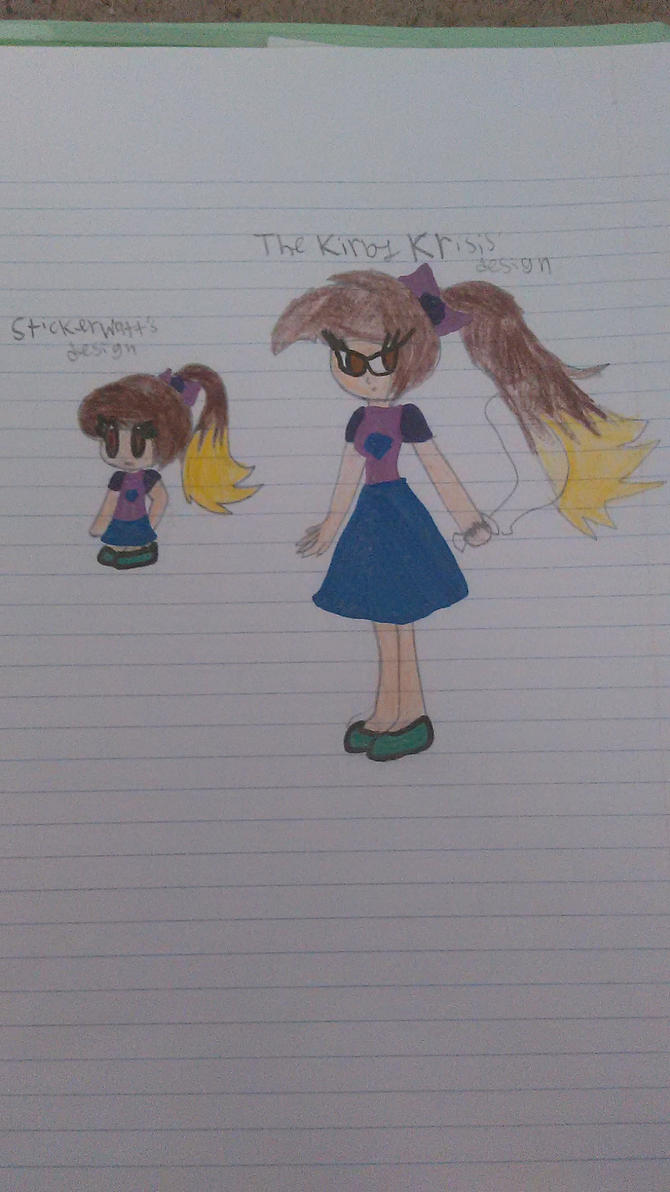 Different Art Designs : Me in different art designs by zanesecretcrush on deviantart