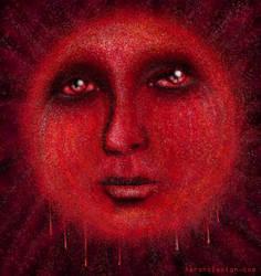 Blood Sun no.9 by aaronsdesign
