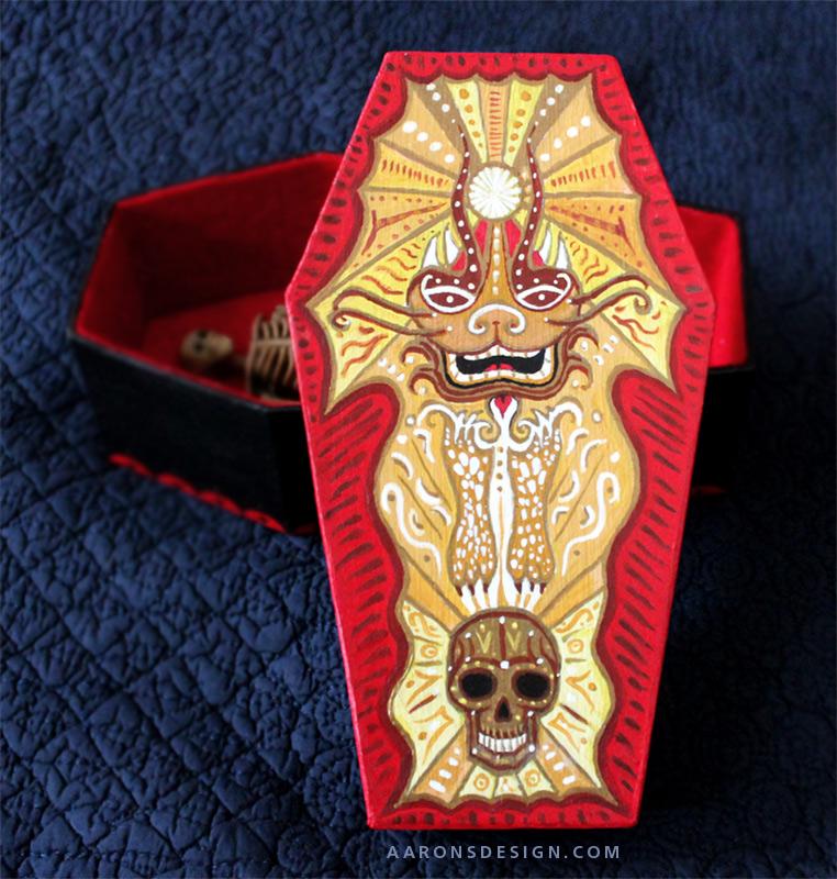 Coffinbox Design by aaronsdesign