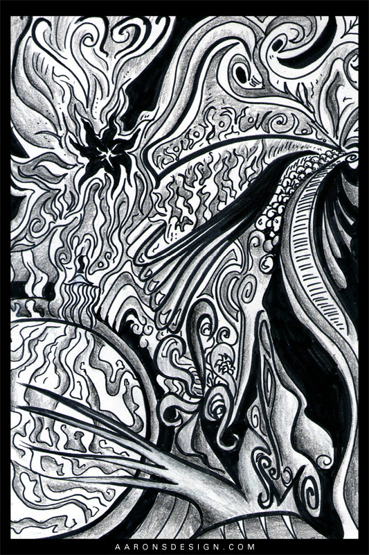 Waves 1 by aaronsdesign