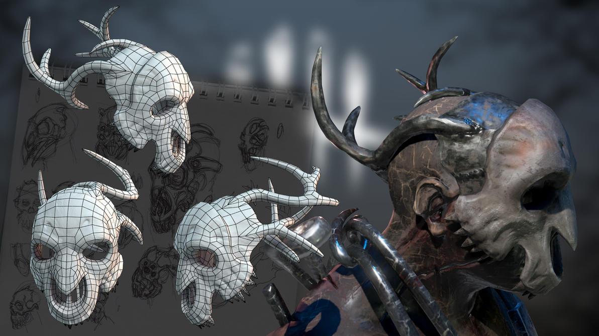 Trapper Deer Mask by dshpilevoy