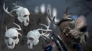 Trapper Deer Mask