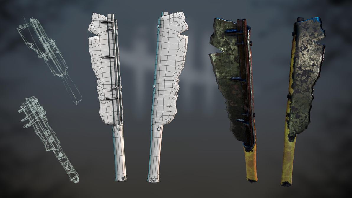 Fanart Trapper weapon. by dshpilevoy