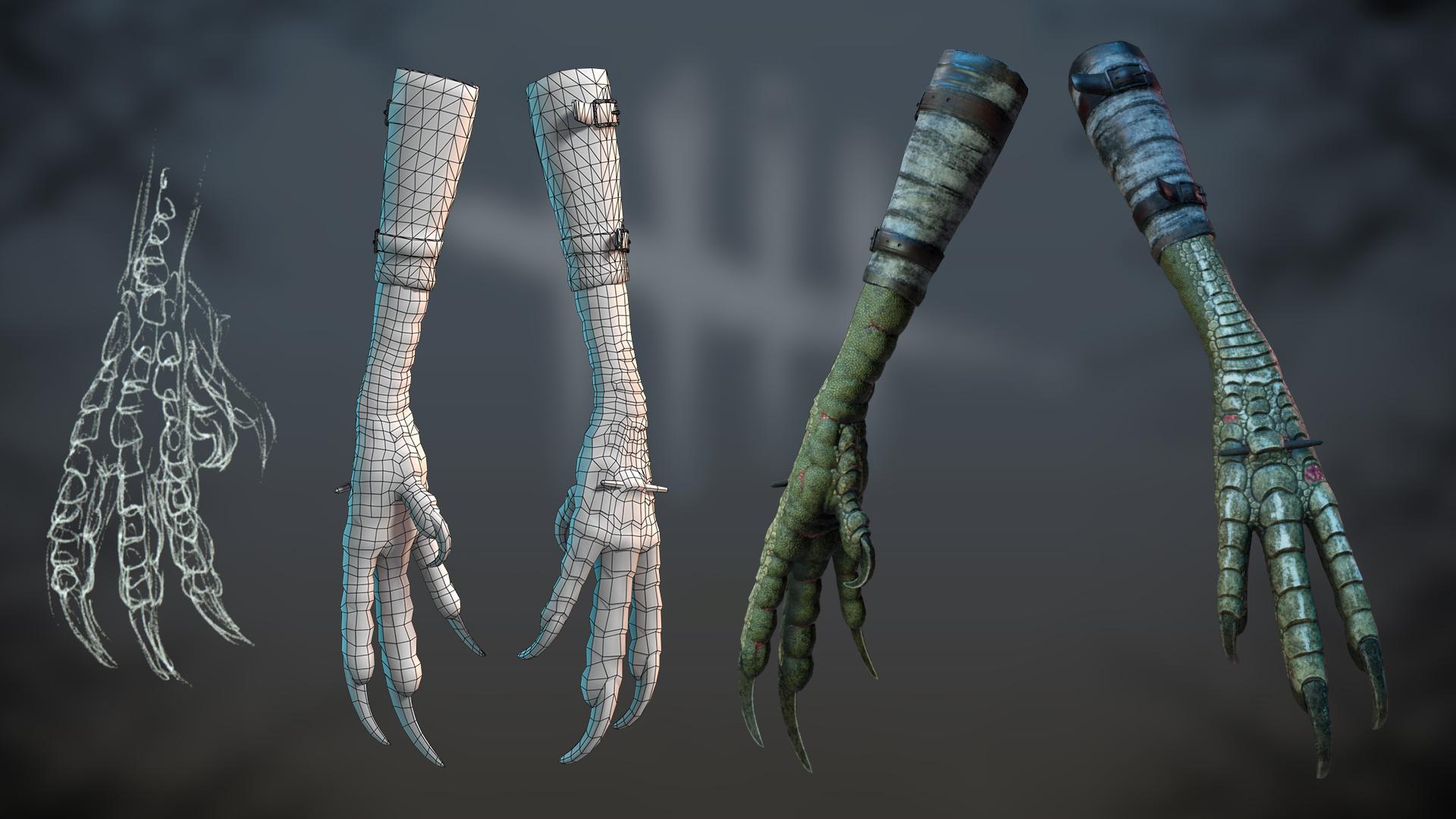 Fanart Hag weapon. by dshpilevoy