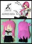 Agnis's Little Plushie by AgnisVulpecula