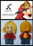 Hiei's Little Plushie by AgnisVulpecula