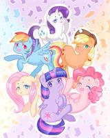 [MLP] Confetti! by kittyhint