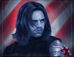 Captain America: Civil War - The Winter Soldier by DaveGozu