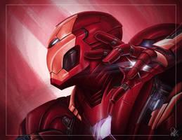 Captain America: Civil War - Iron Man by DaveGozu