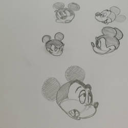study of Mikey Mouse