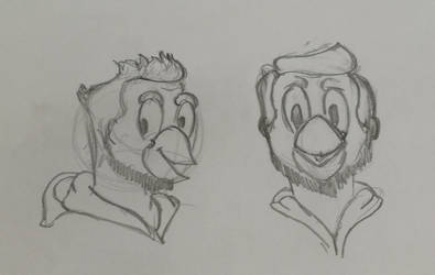 a new Duck Disney's style