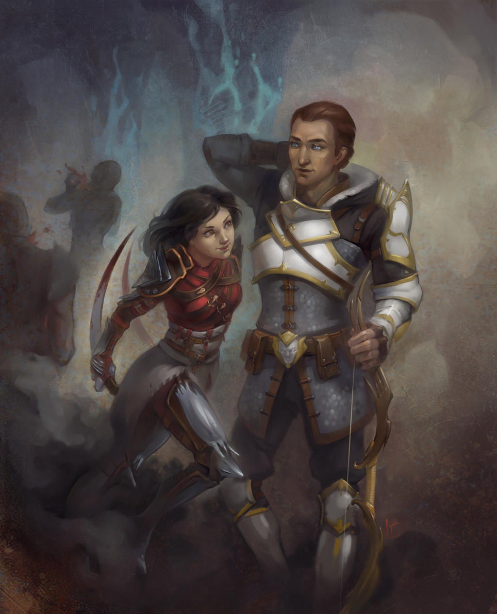 Da2 Rogue By Alteya On DeviantArt