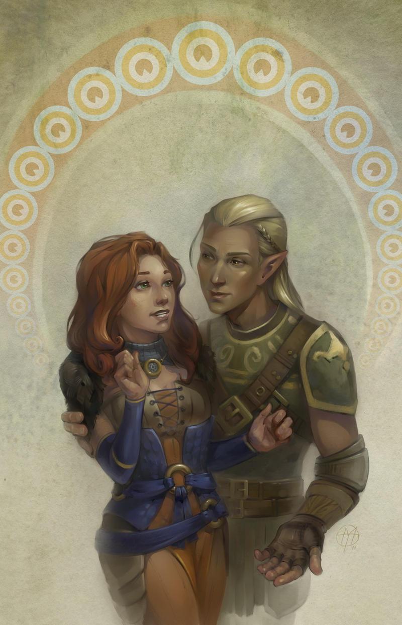 dao couple by Alteya