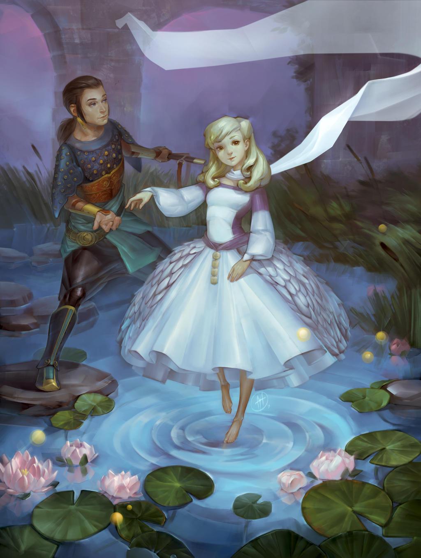 The light princess by Alteya