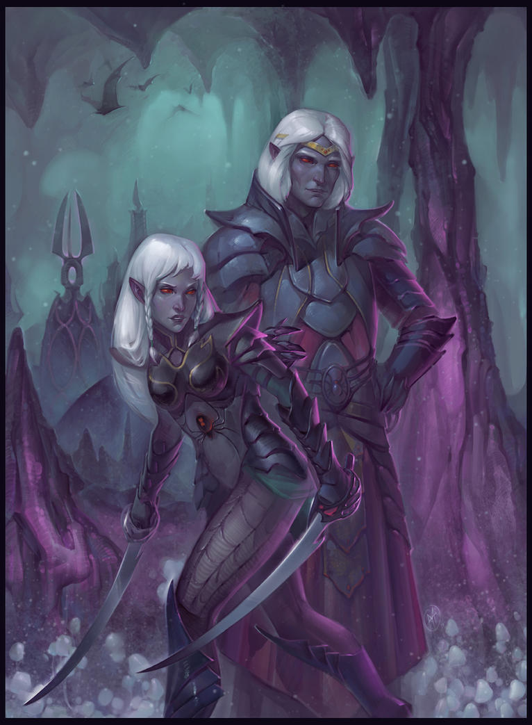 Dark elf erotic art