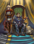 Warden and Alistair