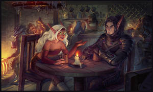 Commission: Taliori and Gabriel